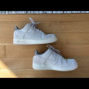 Nike Air Force 1 - cream size 8
